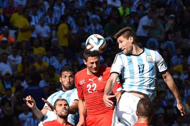(89)BRASIL-SAO PAULO-MUNDIAL 2014-ARGENTINA VS SUIZA