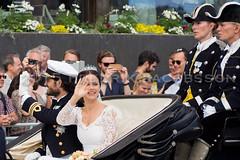 H.K.H Prins Carl Philip and H.K.H Prinsessan Sofia / His Royal Highness Prince Carl Philip together with his wife Her Royal Highness Princess Sofia