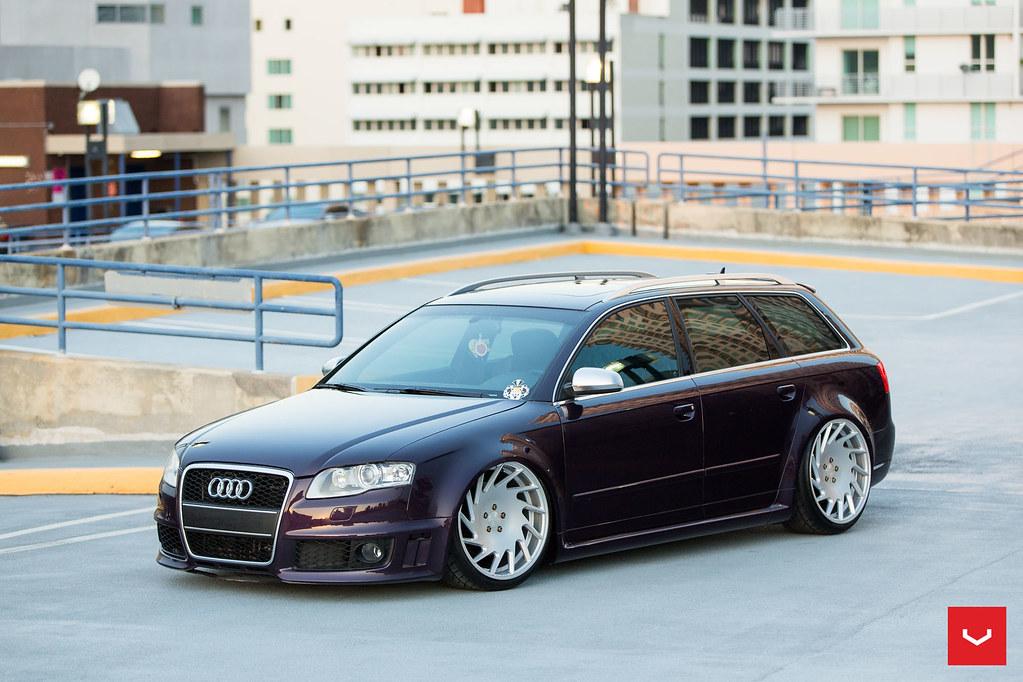 Audi Rs4 Avant 20 Quot Gloss Silver Vle 1 Vossen