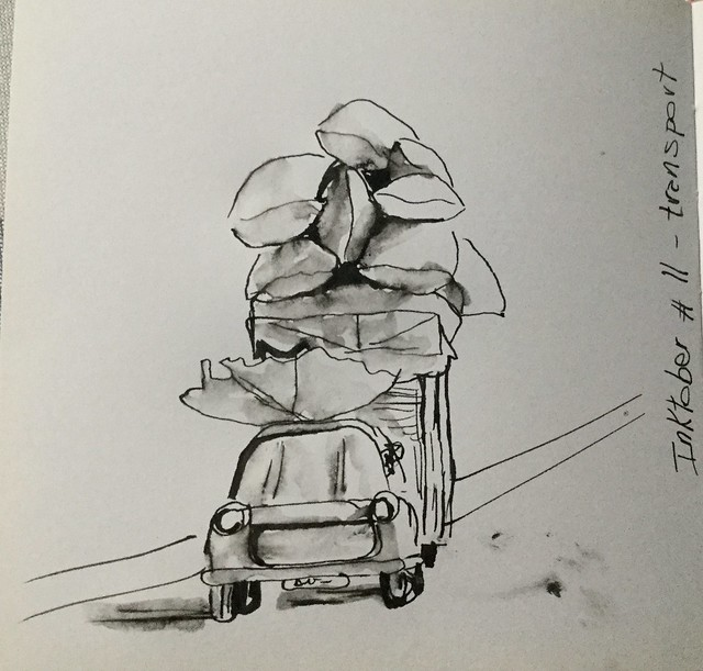 Inktober 2016 #11 - transport, Apple iPad Air 2, iPad Air 2 back camera 3.3mm f/2.4