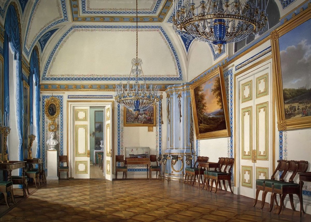 The Antechamber of Tsesarevich Alexander Nikolayevich, 1860