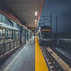 Seattle Light Rail - Angle Lake Station . . . . #seattle  #illgrammers #agameoftones #moodygrams #thecreatorclass #createcommune #artofvisuals  #vsco #vscocam #travel #vscotravel #travelgram #acreativevisual #urbanromantix #aovmag #fatalframes #trustthesh