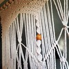 I don't wanna take a shower and go to the office... *foot stamp* (a la 3 yr old) I want to stay herrrre and do THIS work!!! :tired_face: #macrame #customwork #custommacrame #homeoffice #happyoffice #makingthedreamwork #kinda? #tleahdesigns