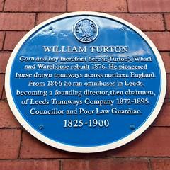 Photo of William Turton blue plaque