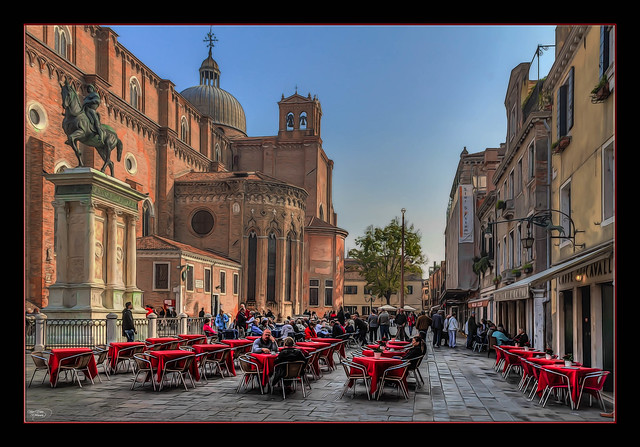 Red Tables of Venice
