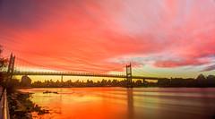 Red Sky 2016 RFK Bridge NYC