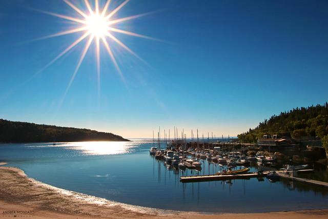 Port de Tadoussac (Québec, Canada)