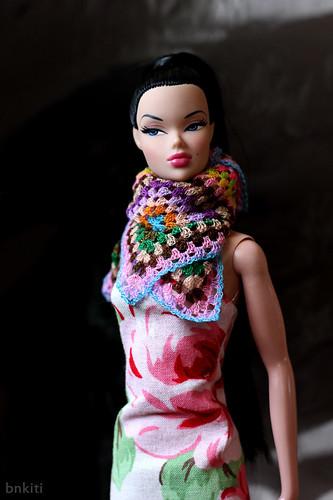 New! Crochet shawl