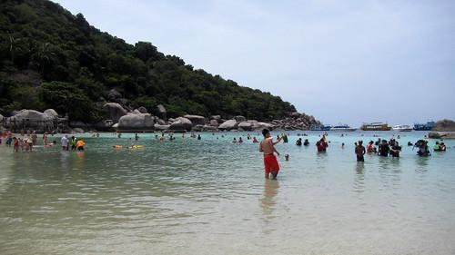 Koh Nangyuan 1day trip ナンユアン島スノーケルツアー (17)