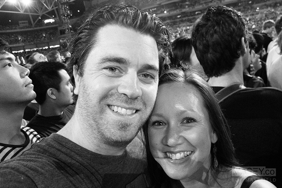 Smile Rob & Kirsten!
