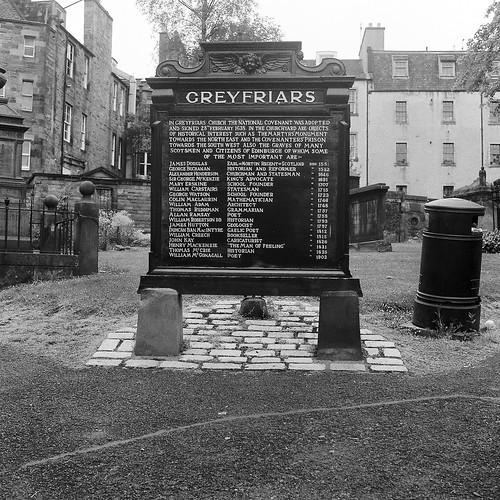 Greyfriars Kirkyard by David Farrer