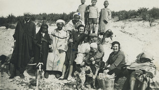 Partie de chasse - Maroc années 1930