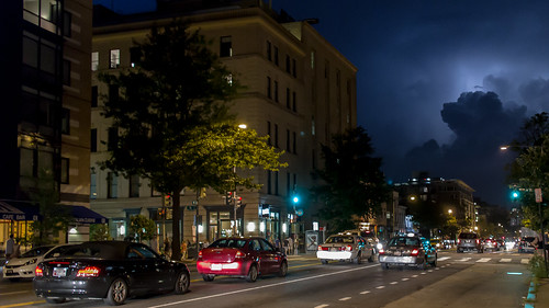 Lightning over 14th Street