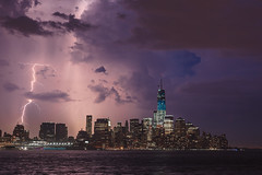 Lightning Strikes Brooklyn, Behind The World Trade Center 2