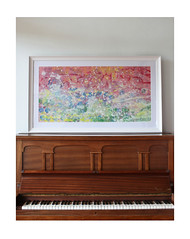 Framed Original Paintings - Music at Sunrise