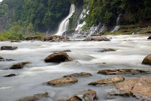 longexposure river landscape waterfall
