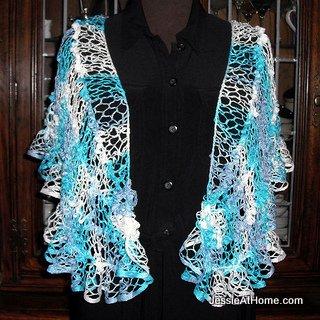 Natalie net shaw and wrap crochet pattern jessie at home natalie wrap premier starbella dt1010fo