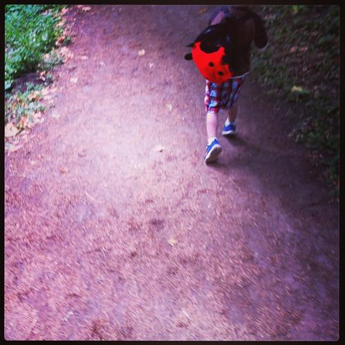 Everett on the nature walk