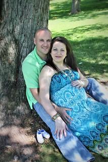Lauren & Greg Pregnancy Photoshoot