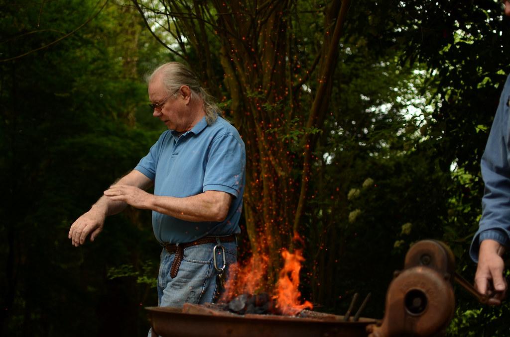 Master gunsmith | Wallace Gusler, seen here, master gunsmith
