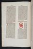 Hand coloured printed initial in Berchorius, Petrus: Liber Bibliae moralis