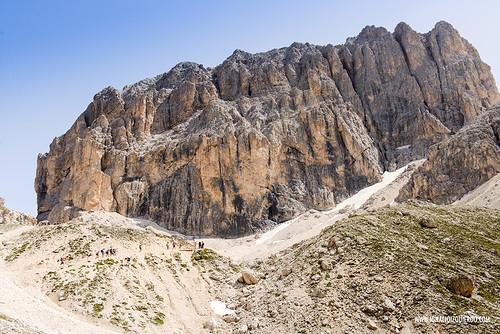 Dolomites - Val di Fassa - Vinicio Capossela at Vajolet 22