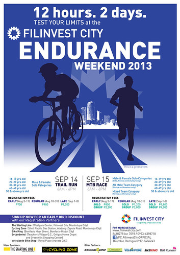 Endurance-Weekend-2013-Poster
