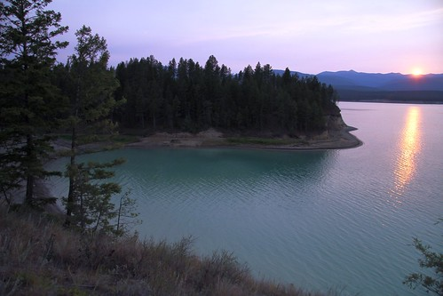 sunset montanamtaerophotoswisherlakewaterclouds koocanusamontana