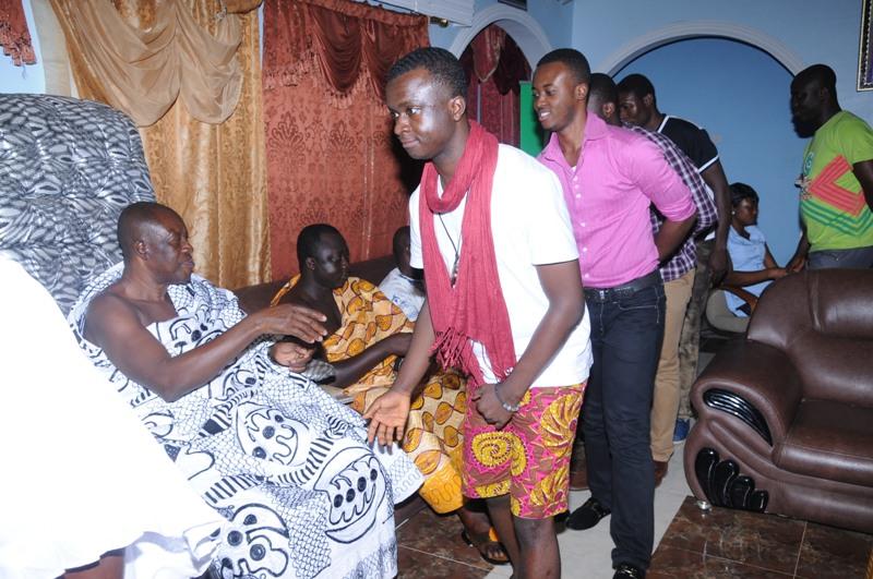 Symphony arrival in Kumasi