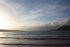 Setting Sun near Cleggan