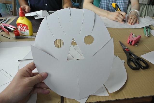 マスク作りワークショップ