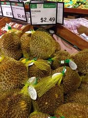 vegetarian food, green, produce, fruit, food, durian, jackfruit,