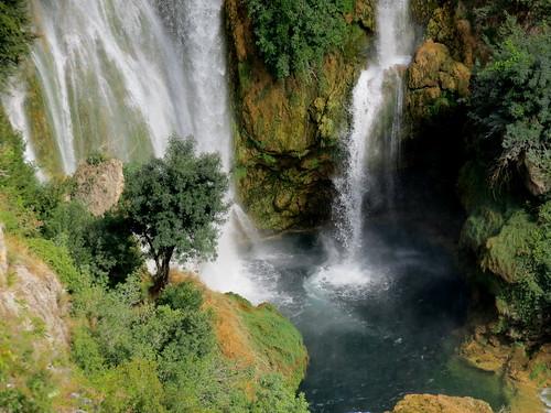panorama waterfall croazia sibenik krka hrvatska cascate parconazionale cherca