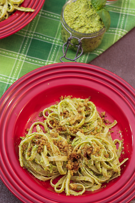 Broccoli Pesto ~ Guest Post at Total Noms