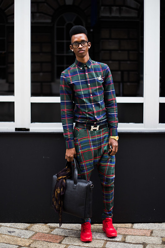 Street Style - Mafu, London Fashion Week