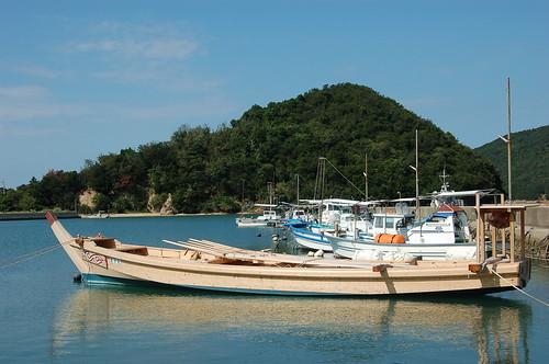 瀬の浦の港
