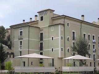Hotel balneario.