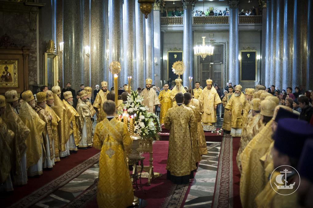 17 октября 2013, Именины митрополита Санкт-Петербургского и Ладожского Владимира