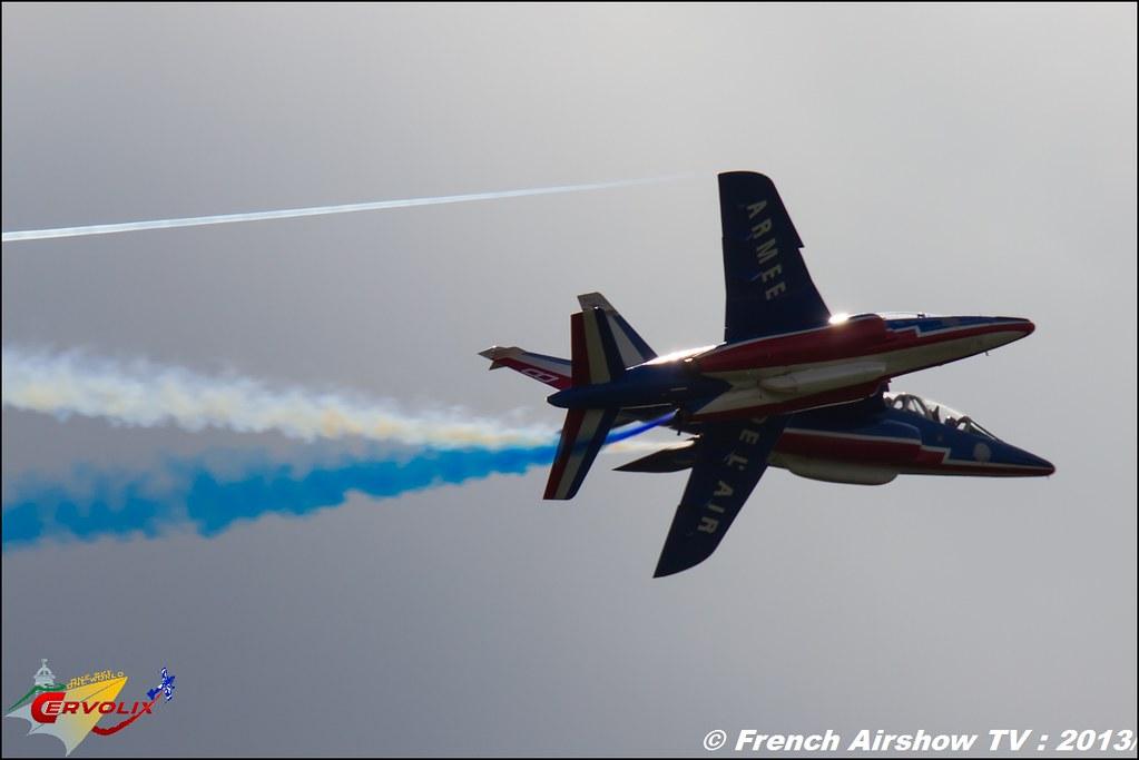 Patrouille de France a Cervolix 2013