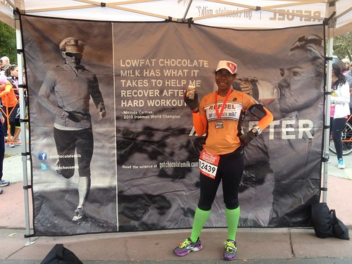 Refueling at RnR Denver finish!