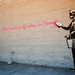 Banksy in Queens by vincemunoz
