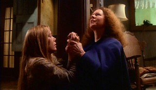 Sissy Spacek and Piper Laurie pray in 1976's Carrie