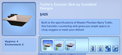 Tuttle's Counter Sink by Corebital Designs