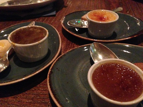 Mini Creme Brulees at The Church Key