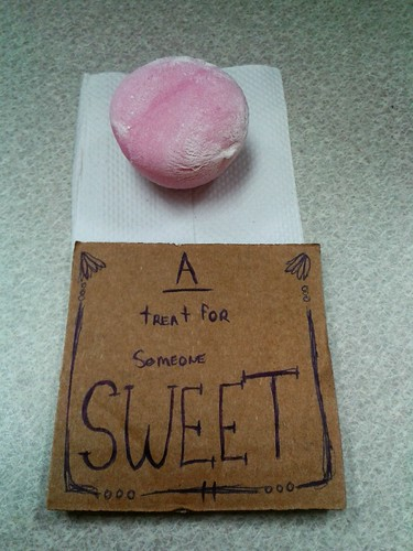 A Treat for Someone Sweet (Sept 29 2013)