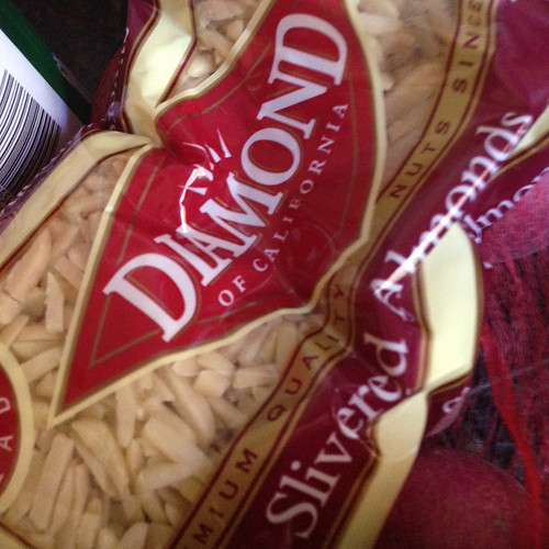 almond slivers