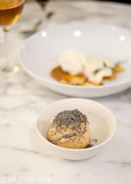 salted caramel semifreddo dessert ester chippendale