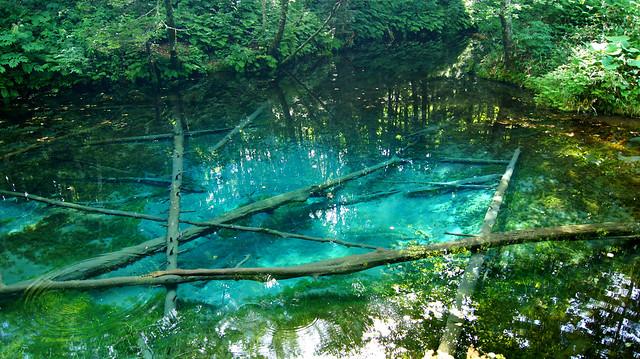 北海道:神の子池 Hokkaido