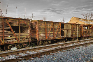 US Army Wooden Boxcar #22125