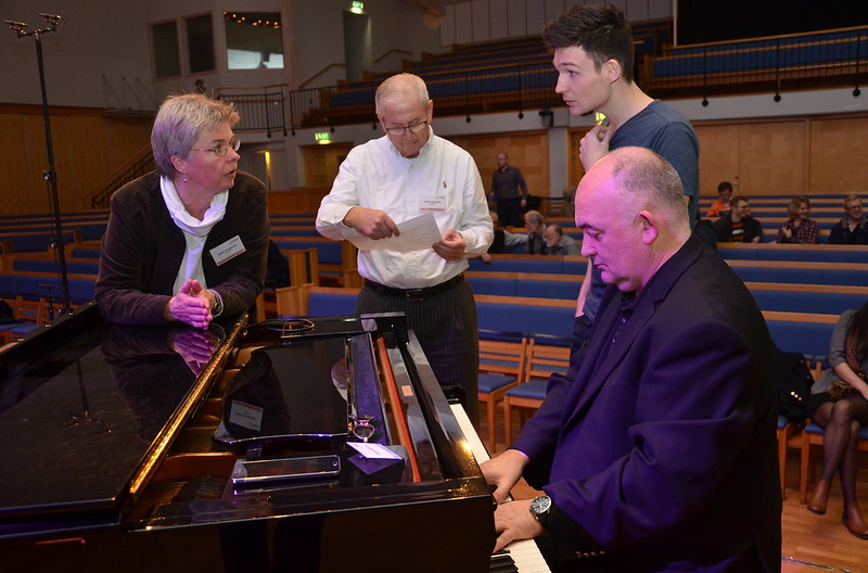 Brassbandfestivalen 2013 - Berit Palmquist, Sören Jilderbo, Paul Duffy och James Morrison (Foto: Olof Forsberg)